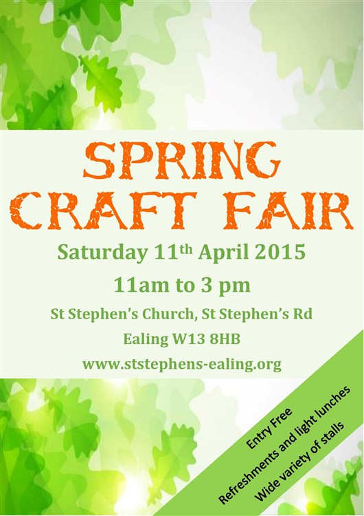 Flyer Poster Craft Fair 2015 F