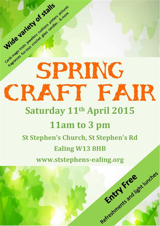 Flyer Poster Craft Fair 2015 d
